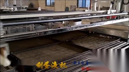 康辉隧道炉二次刷蛋机,全自动刷蛋液机,隧道炉刷蛋机