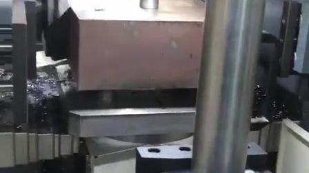 金属切削数控双头铣床
