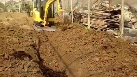 30型工程农用挖机