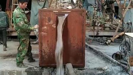 泵出水现场