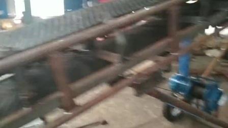 盐城移动式单槽钢装车输送机Lj8正反转皮带输送机