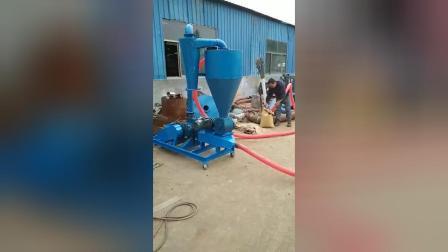 玉米渗子气力吸料机