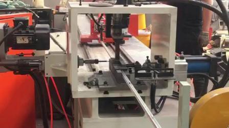 自動角鋼加工生產線 供應全自動衝孔機可立銑