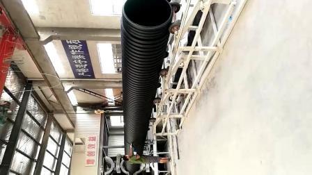 HDPE双壁波纹管厂家 SN4 SN8波纹排水管