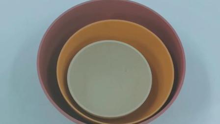 禮物包裝竹纖維圓形碗