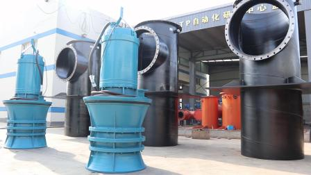 防洪工作大口徑排澇混流泵