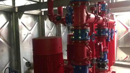 貴陽抗浮地埋式箱泵一體化安裝結束