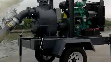 6寸柴油自吸污水泵柴油污水泵 上海詠晟柴油污水泵