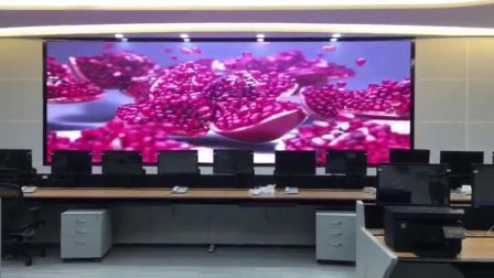 PH2室内LED电子屏清晰度放4K视频效果