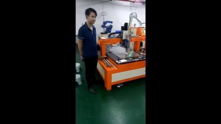 龙门式机器人连续激光焊接机