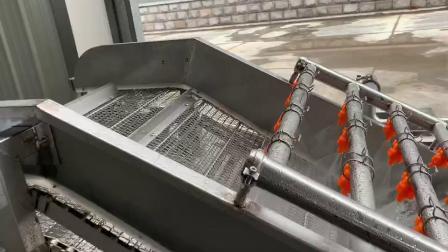 香菇高压喷淋气泡清洗机 食用菌气泡清洗机