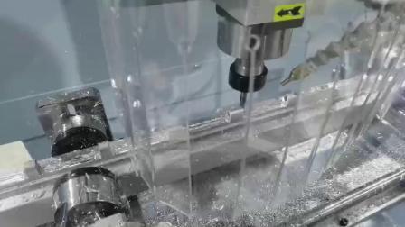 工業鋁型材數控鑽銑牀鋁型材加工設備