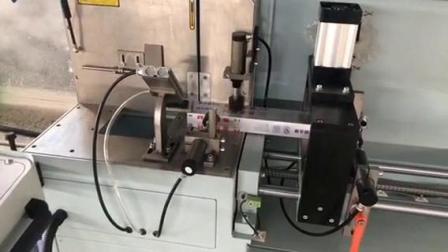 鋁型材自動送料切割鋸鋁門窗加工設備