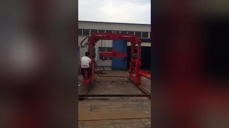 高铁撒灰炉铺轨隧道铺路小吊机
