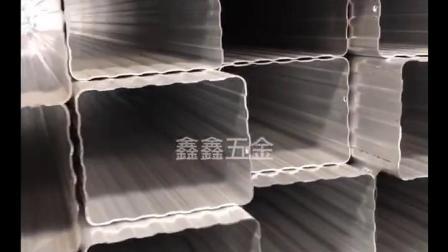 建築外牆用鋁合金排水管 山東濰坊雨水管