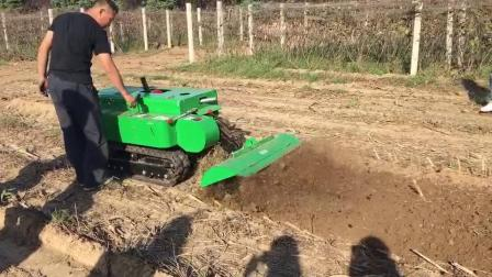直销新款回填机 大马力正循环旋耕机