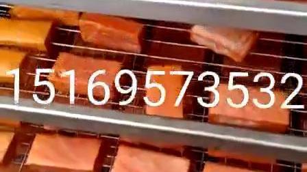 不鏽鋼全自動燻蒸一體機四川臘肉滷製品煙燻蒸烤上色爐