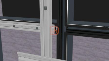 兴发智慧型挂钩式幕墙卡式隔热条与大截面装