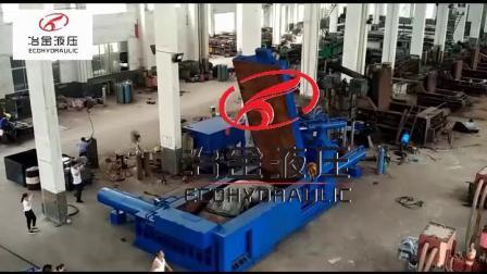 重廢打包機、大型全自動型材打包機Y81-800TT