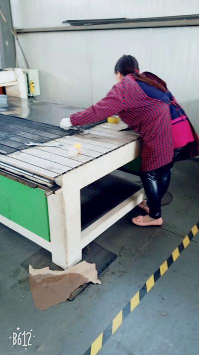 风琴防护罩加工区