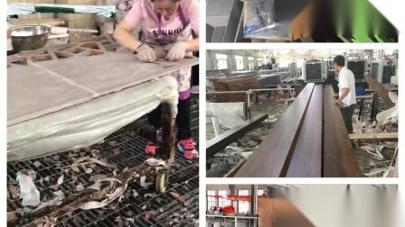 热转木纹印工艺表面处理