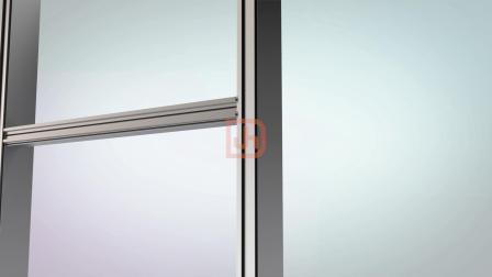 兴发智慧型挂钩式幕墙横梁与立柱的安装方式