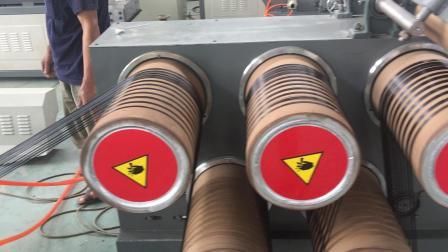 塑料拉絲機  制繩打繩用圓絲繩子拉絲機尼龍拉絲機