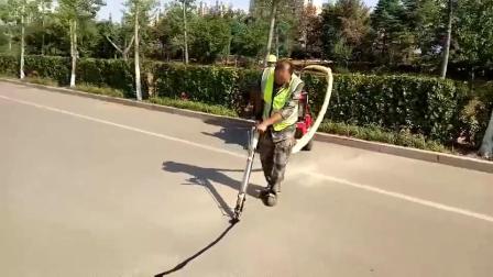 华光牌路面灌缝机施工展示