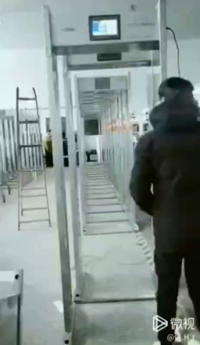 門框式測溫儀學校工廠復工用