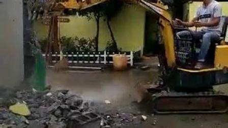 园林栽培微型挖掘机