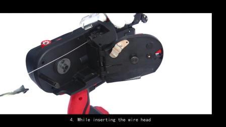 施工工具锂电九威钢筋绑扎机 4--45MM建筑钢筋