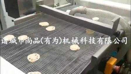 藕合裹粉机 自动化藕合油炸生产线 藕夹挂糊设备