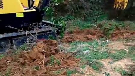 15型农用果园小型挖掘机