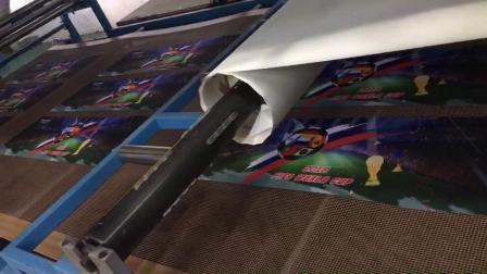 冷感巾印刷过程