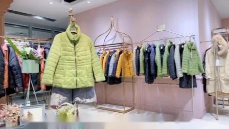 广州明浩长期供应品牌折扣女装一手货源