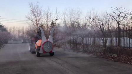 牽引式風送噴霧機