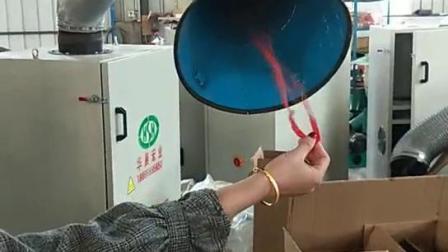 双臂焊烟净化器现场视频