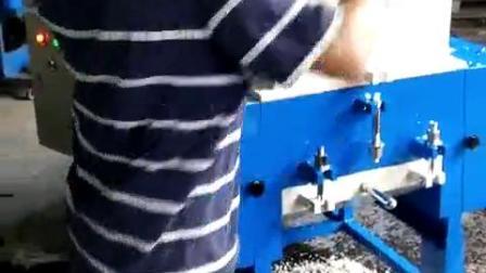皮革条塑料破碎机