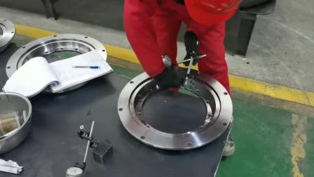 萬達供應 塑料包裝機械迴轉支承 轉盤軸承
