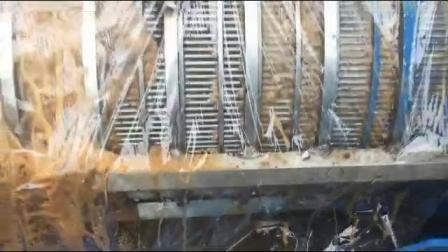 鑫华轻工餐厨垃圾脱水处理视频现场拍摄