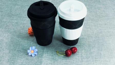热卖防烫圈竹纤维咖啡杯