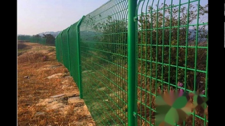 绿色铁丝网围栏@云浮绿色铁丝网围栏厂家在哪里