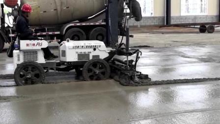 四輪座駕式S-740施工現場視頻