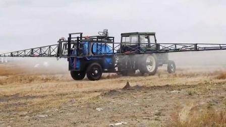 拖拉機新型配套噴杆大豆玉米小麥棉花果園牽引式噴藥機