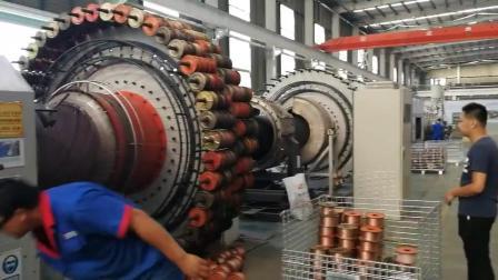 口径dn1000PE钢丝管生产实拍