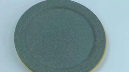 現代簡約竹纖維圓形餐碟