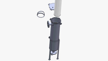 奕卿科技单袋式过滤器结构