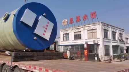 石家庄玻璃钢污水一体化提升泵站