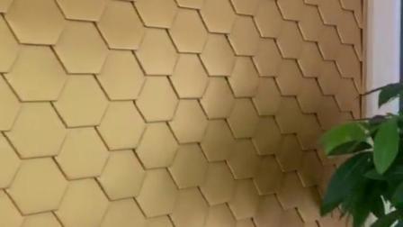 六边形平锁扣