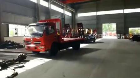 平板车挖机运输车